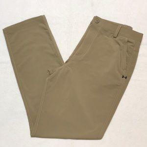 Boys Khaki Under Armour Dress Pants